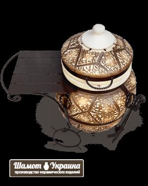 ТАНДЫР модель №5. Лакшери - Luxury (дикий камень)