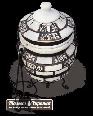ТАНДЫР модель №1 Атаман (дизайн кирпич)