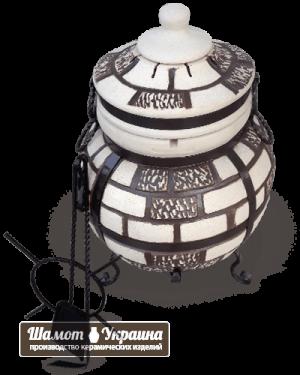 ТАНДЫР модель №3 Атаман (дизайн кирпич)