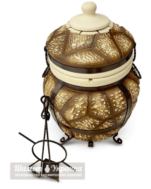ТАНДЫР модель №5 Античный (дизайн дикий камень)