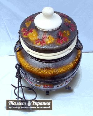 ТАНДЫР модель №4 Тамерлан (коричневый)