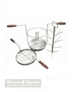 Трансформер  3в1 c алюминиевой сковородой  ∅ 37 см